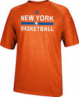 New York Knicks Heather Orange Climalite Practice Short Sleeve Shirt by Adidas on eBay