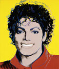 "28W""x32H"" MICHAEL JACKSON 1984 by ANDY WARHOL - THRILLER BAD - CHOICES of CANVAS"