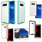 For Samsung Galaxy S7/S8 Plus Shockproof Soft TPU Hybrid Clear Case Slim Cover