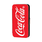 SOFT DRINK COCA COLA FLIP WALLET CASE COVER FOR APPLE IPHONE. £8.99  on eBay