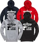 If Grandad Can't Fix It We're All Screwed Funny Gift Hoodie Hooded Top