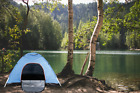 2-3 Person Tent Instant Pop Up Waterproof Outdoor Camping Hiking Beach +Tent kit