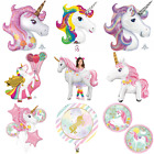 MAGICAL UNICORN Helium Foil BALLOON - Choice 9 Designs Party Decoration Girl