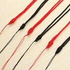 5pcs Handmade Braided Line Rope String Cord Jade Beads Lucky Necklace Pendants