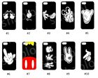 Funny Mickey Mouse Hands Case for iPhone 4 5 5C 6 7 8 X Galaxy S3 S4 S5 S6 S7 S8