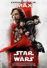Star Wars The Last Jedi Imax High Resolution Movie Poster. Metallic. Canvas $12.2 USD
