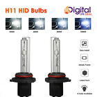 35W H11 Xenon Conversion Premium HID Bulbs for Fog Light 43K, 6K, 8K, 10K D.