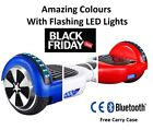 HOVERBOARD SWEGWAY SELF BALANCING ELECTRIC SCOOTER HOVER BOARD CHROME BLUETOOTH