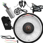 "26"" Electric Bicycle Rear Wheel E-Bike Conversion Kit 48V/36V Motor Hub Speed"