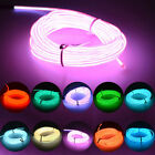 1-5M Flash Flexible Neon LED Glow EL Strip Tube Wire Rope Car Party Fairy Light