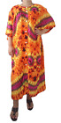 New Plus Size Loose Fit Long Dress Short Sleeve Casual Christmas Gift, Bust 64""