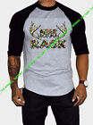 MOSSY OAK NICE RACK Baseball T Shirt raglan camping hunting camo cancer tits