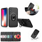 360° Swivel Ring Kickstand Shockproof Case For iPhone X 8 7 6 6s Plus 5 5s SE
