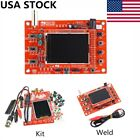 "DSO138 2.4"" TFT Digital Oscilloscope Acrylic Case DIY Kit SMD Soldered R2C0 US#"