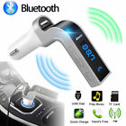 FM Transmitter Bluetooth Hands-free LCD MP3 Player Radio Adapter Kit Charger Car