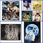 Laura Secret Throw 3D Print Animal Design Blanket Christmas New Year Gift Double