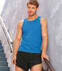 Fruit of the Loom Performance Vest Top SPORTS GYM WICKING Mens ATHLETIC COMFORT