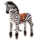 Fun Ride-On Zebra Toy - Small, Medium and Large - Black and White