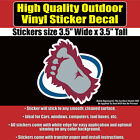 Colorado Avalanche Foot - NHL Hockey Vinyl sticker decal $13.5 USD on eBay