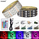 DC 5V 1M 2M 3M 4M 5M 5050 SMD RGB USB LED strip Light Ribbon tape USB charger