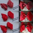 LARGE OVERSIZED CHRISTMAS BOW Hair clip- (16cm/ 6.5inches approx)