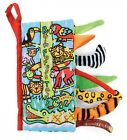 Baby Cloth Books Unfolding Activity Book Animal Tails Design Learning Education
