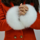 Women Real Fox Fur Sleeve Cuffs Wrist Ring Warm New Fashion Winter Warm 91492