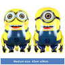 """43"""" inch minions foil balloons kids characters theme party large yellow foil bal"""