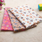 Внешний вид - 1Pc Soft Warm Pet Fleece Blanket Bed Mat Cover Cushion For Dog Cat Small Animal