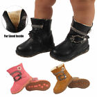 BABIES INFANTS FUR LINED GIRLS WARM WINTER SNOW BOOTS DIAMANTE SHOES SIZES 2-7