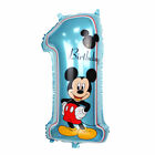 Number 1 Supershape 1st First Mickey Minnie Mouse Boy Girl Birthday Foil Balloon