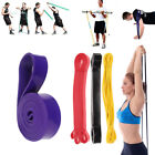 Pull Up Resistance Body Stretching Band Loop Power Gym Fitness Exercise Yoga US image