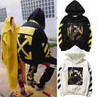 New C/O Virgil Abloh Pyrex Vision Off White Coat Religion Long Sleeve Hoodie