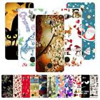 For Acer Liquid S2 S520 Christmas Plastic Case Cover 2018 New Year Tower Cat