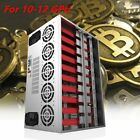 Crypto Coin Miner Frame Open Air Mining Rig Case For12GPU ETH/BTC/Bitcoin LotR4