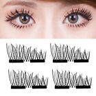Magnetic 3D Eyelashes Reusable Long False Eye Lashes Makeup Extension 2-200Pa YT günstig