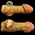 VERY RARE LARGE PHOENICIAN PHALLIC EROTIC PENDANT 300BC SUPER QUALITY