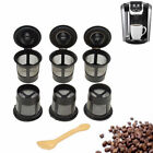 1-50Pcs Reusable Refillable Single Coffee Replacement Mesh Filter Pod for K-Cup