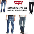 BRAND NEW ORIGINAL LEVIS 504 REGULAR STRAIGHT FIT JEANS