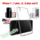 FOR Apple iPhone 7/8/7/8/8 Plus  iPhone X Case Bumper Cover Clear Shockproof TPU
