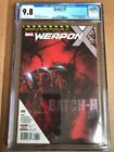 Weapon X #6 (2017) CGC 9.8 1st Print Weapon H Cameo Hulk 22 Lead-In