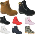 Kyпить WOMENS WINTER ANKLE BOOTS LADIES ARMY COMBAT FLAT GRIP SOLE BIKER SHOES SIZE NEW на еВаy.соm