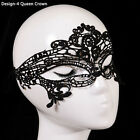 IK- Womens Black Lace Butterfly Face Mask Masquerade Party Ball Prom Costume Che