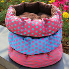 IK- Puppy Dog Cat House Soft Thick Warm Fleece Bed Puppy Pet Basket Nest Mat Goo