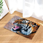 Wild Tiger Head 71X71 Inches Bathroom Home Fabric Shower Curtain With Hooks