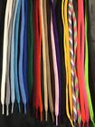 FLAT Athletic 45 54 63 72 Inch Sneaker SHOELACES - shoe lace strings NEW