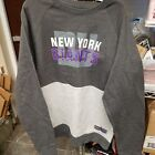 NFL New York Giants Men's Team Logo Two Tone Pullover Fleece Sweatshirt $18.5 USD on eBay