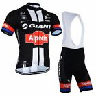giant clothing - Cycling Jersey Bib Shorts Set Team Sky Sports Giant Riding Gear Clothing