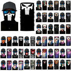 Cycling Motorcycle Skull Head Scarf Neck Warmer Face Mask Ski Balaclava Headband