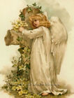 Easter Angels I ~ Vintage ~ Counted Cross Stitch Patterns